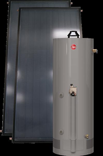Rheem Solpak With Gas Assist Heat Exchange Tank Series Soho Nước