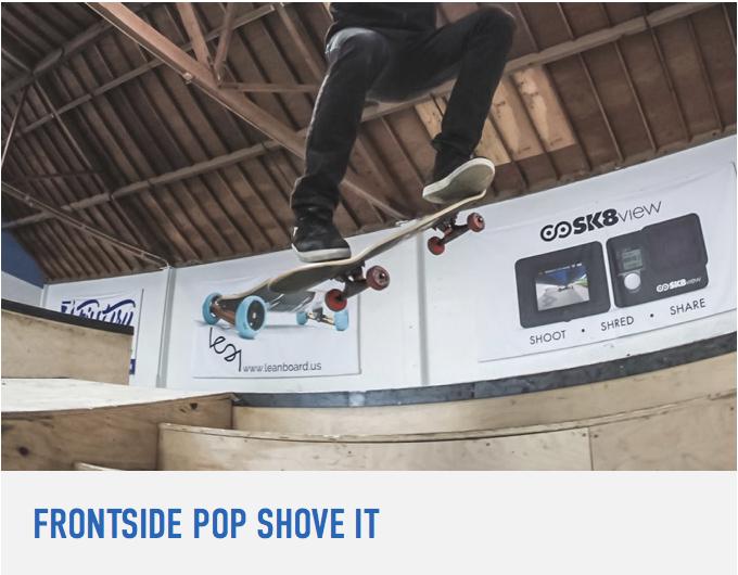 How To Frontside Pop Shove It Braille Skateboarding Pop Tutorial Learning