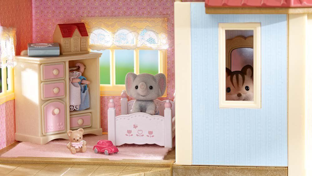 Calico critters townhome toys games