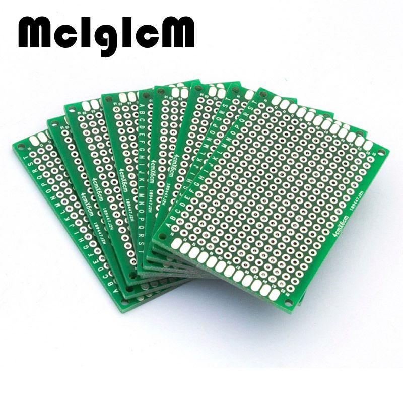 10Pcs 8x12cm Double side Protoboard Circuit Universal DIY Prototype PCB Board F