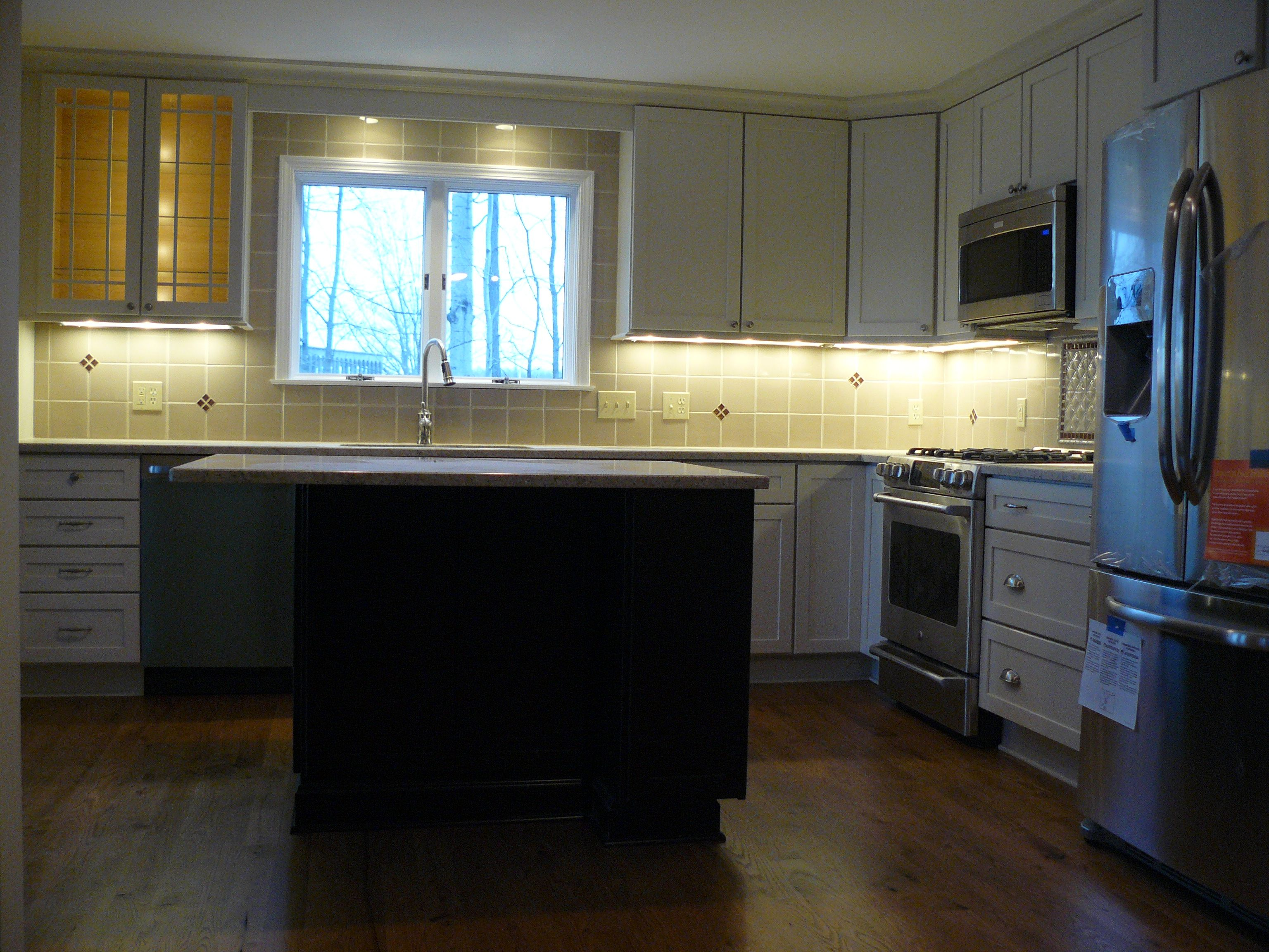 add undercabinet lighting existing kitchen. Add Under-cabinet Lighting For An Elegant Kitchen Look Undercabinet Existing H