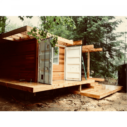 Ben Homes Container Cabin