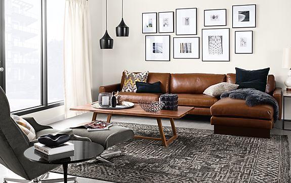 Profile Frames In Gunmetal Modern Furniture Living Room Couches Living Room Living Room Designs