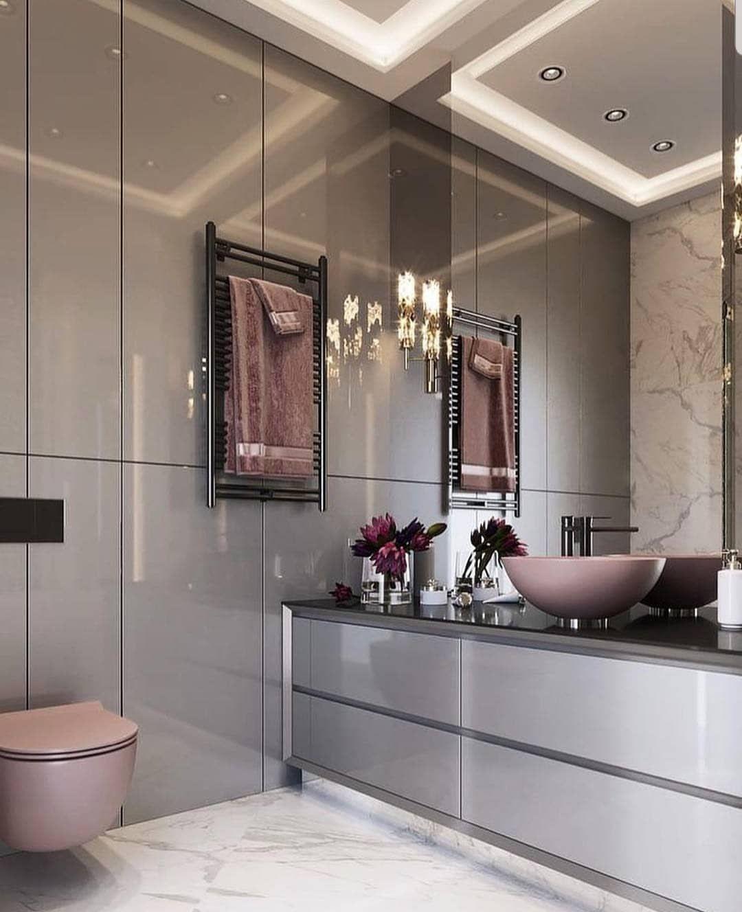 Credit Decoramundo Bathroomdesign Bathroom Interior Interiordecor Interio Badezimmer Innenausstattung Badezimmerideen Modernes Badezimmerdesign