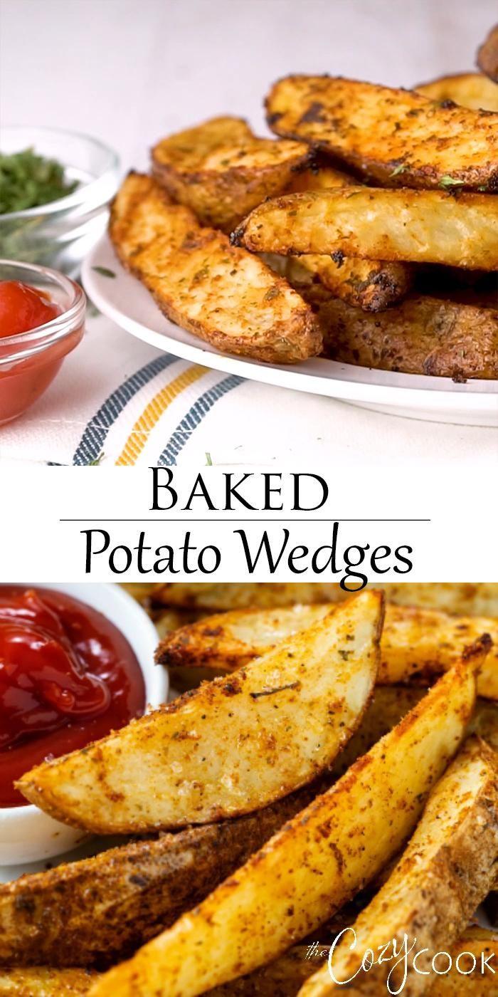 Baked Potato Wedges - EXTRA CRISPY!