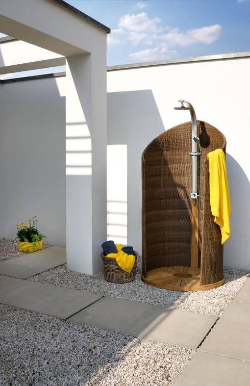 7 geniale Outdoor-Duschen, die wirklich in jeden Garten passen ...