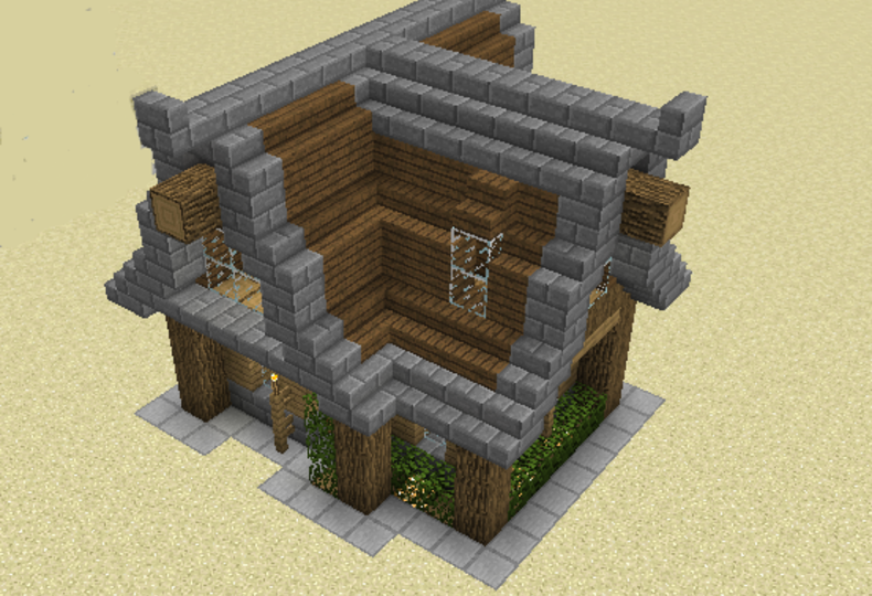 Rustici Modern Rustic House - GrabCraft - Your number one source for