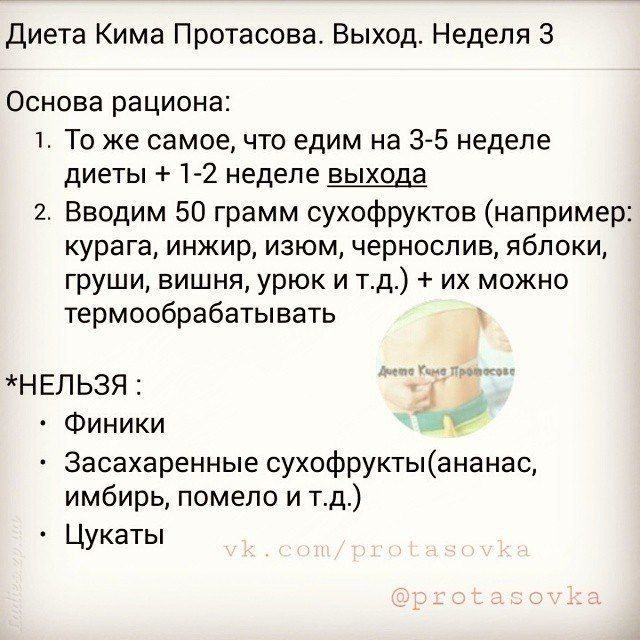 Рецепты По Диете Ким Протасова.