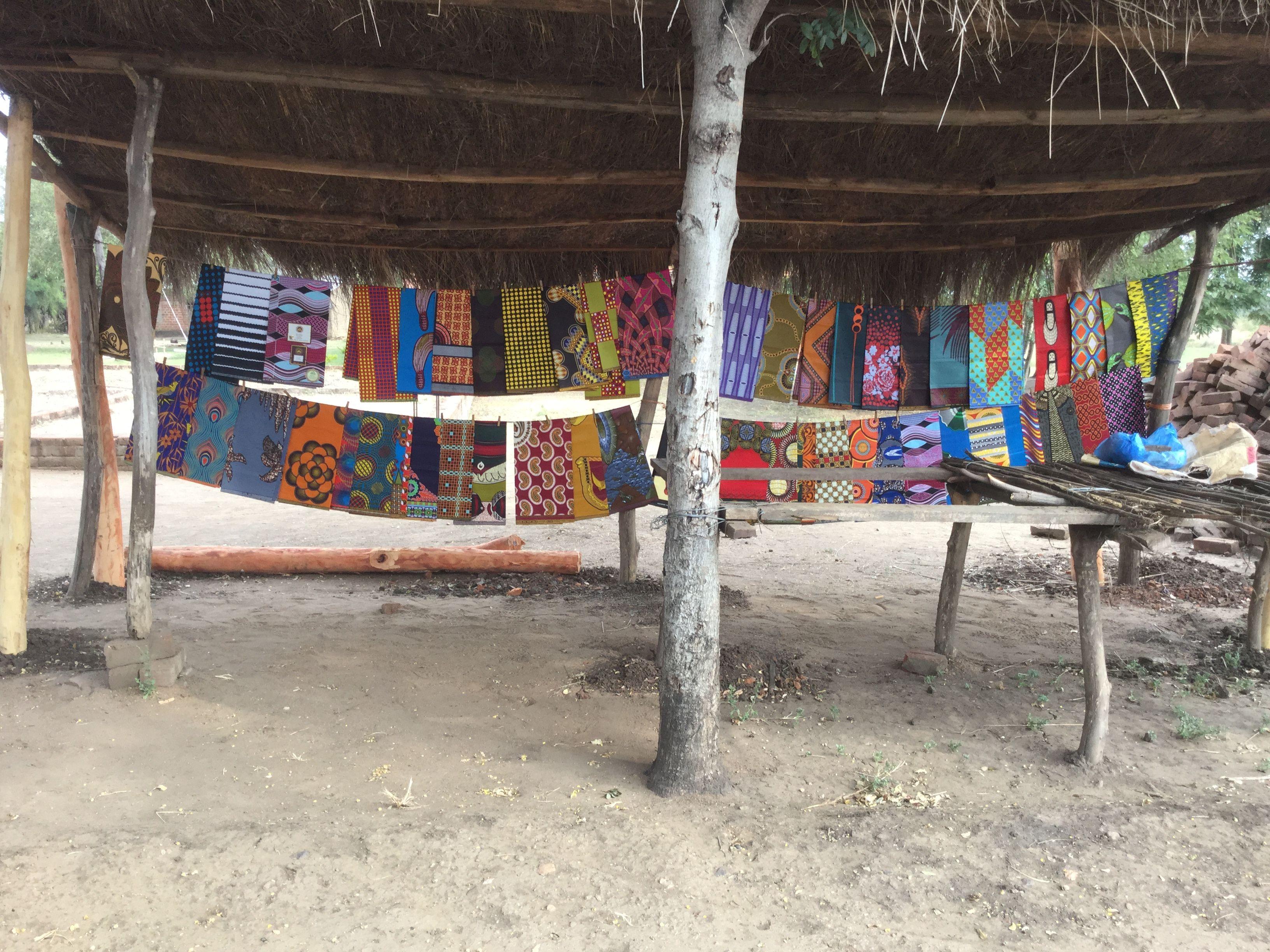 Zambian wedding decorations  Zambia  Fabric  Pinterest