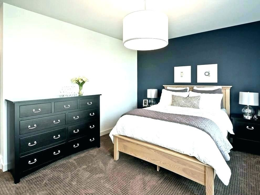 Bedroom Paint Color Ideas With Accent Wall Green accent