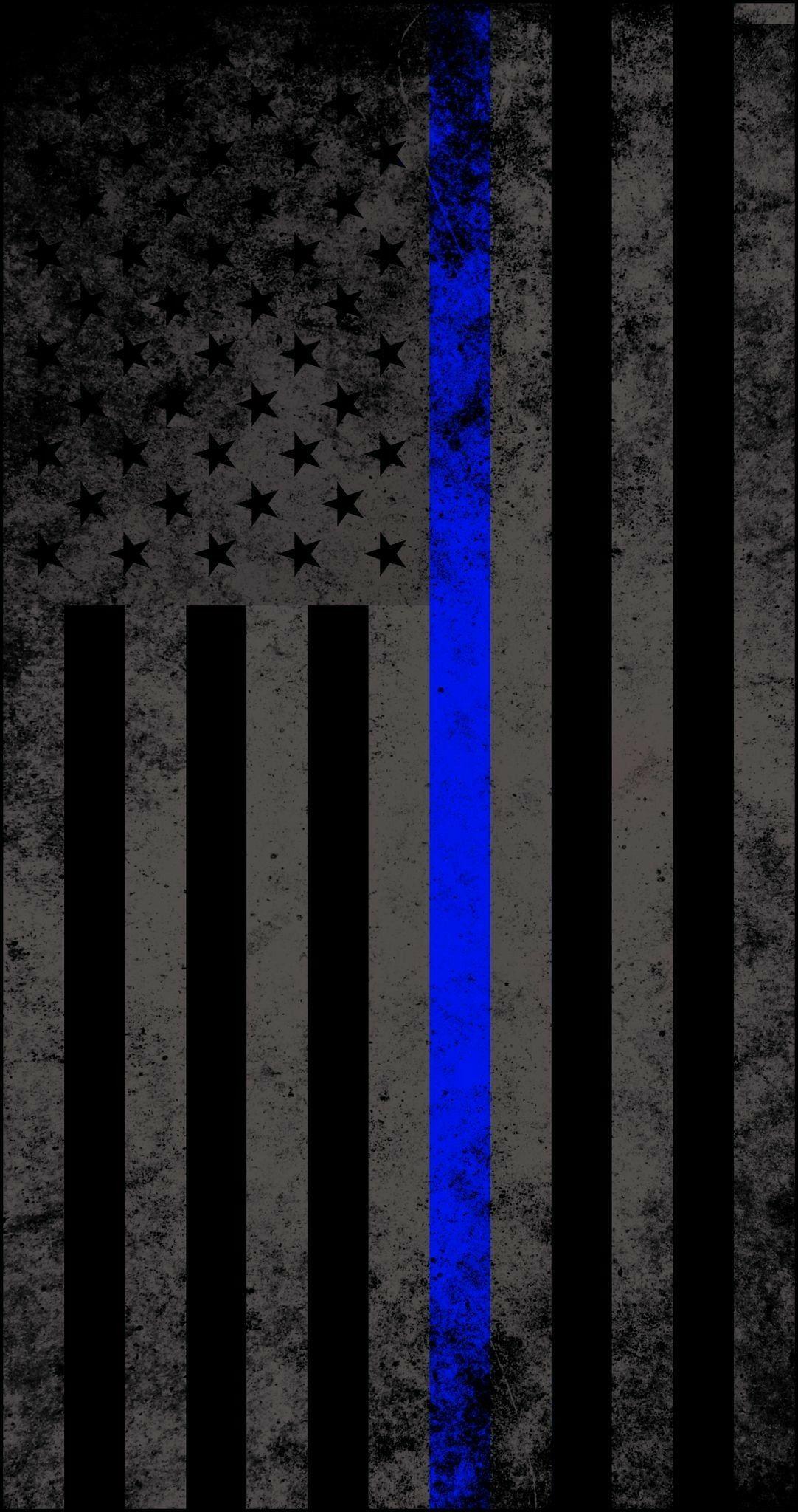 Thin Blue Line by David Martinez Thin blue line