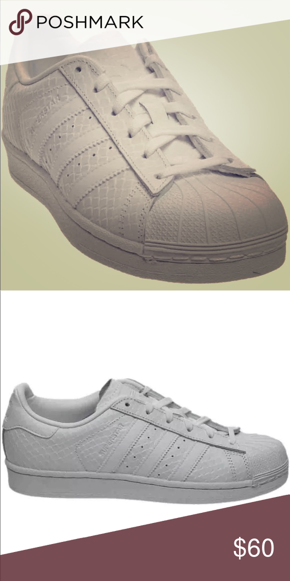 Adidas Superstar White Crocodile Brand