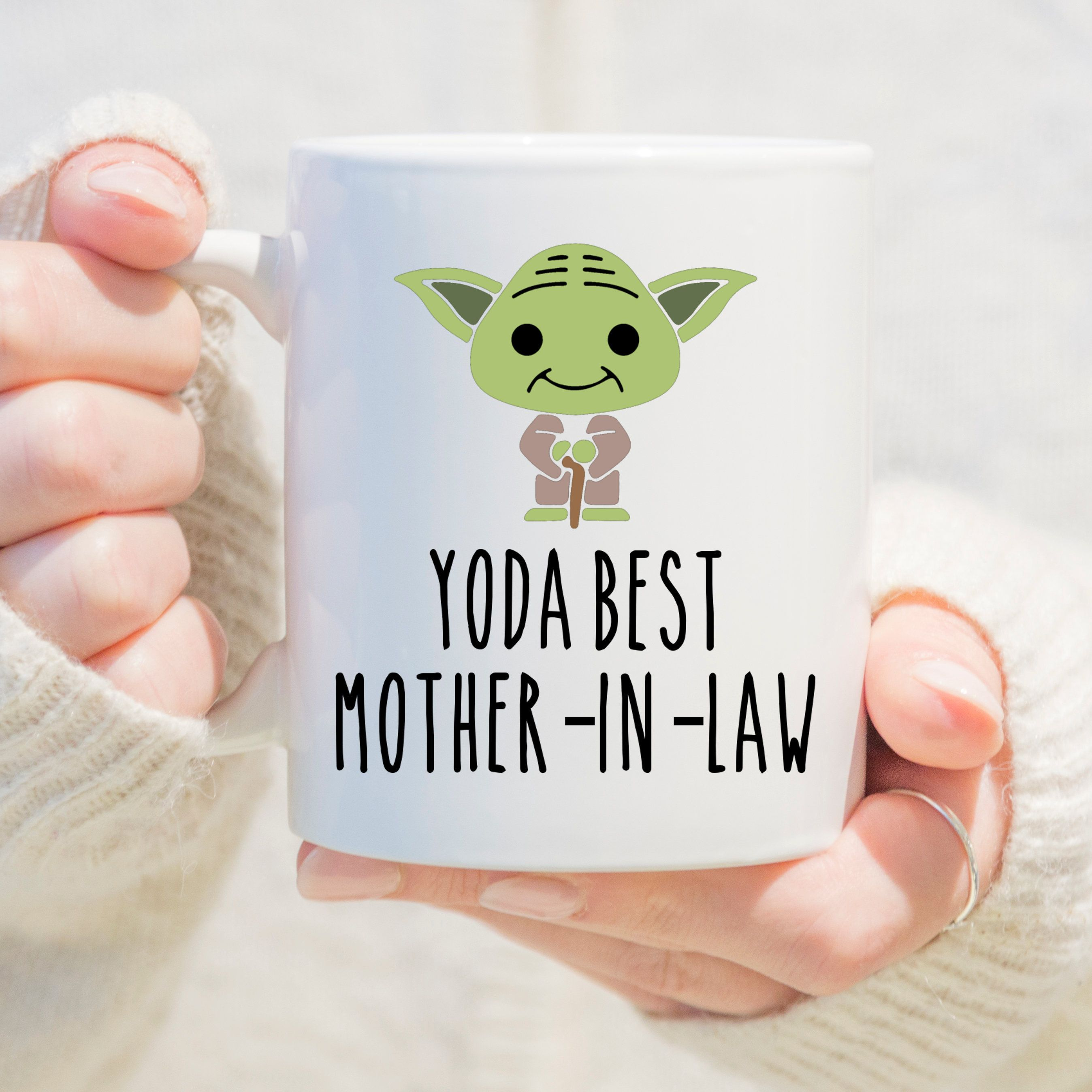 Yo Da Best Mother In Law Coffee Mug, Gift for Mother In