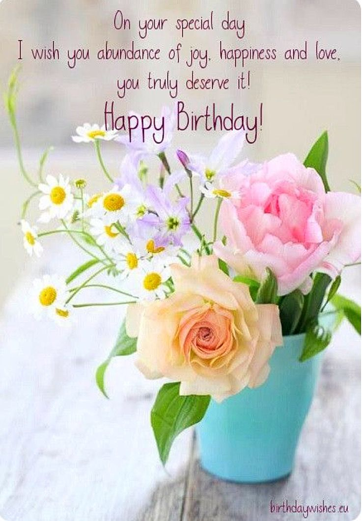 happy birthday  happy birthday flower birthday