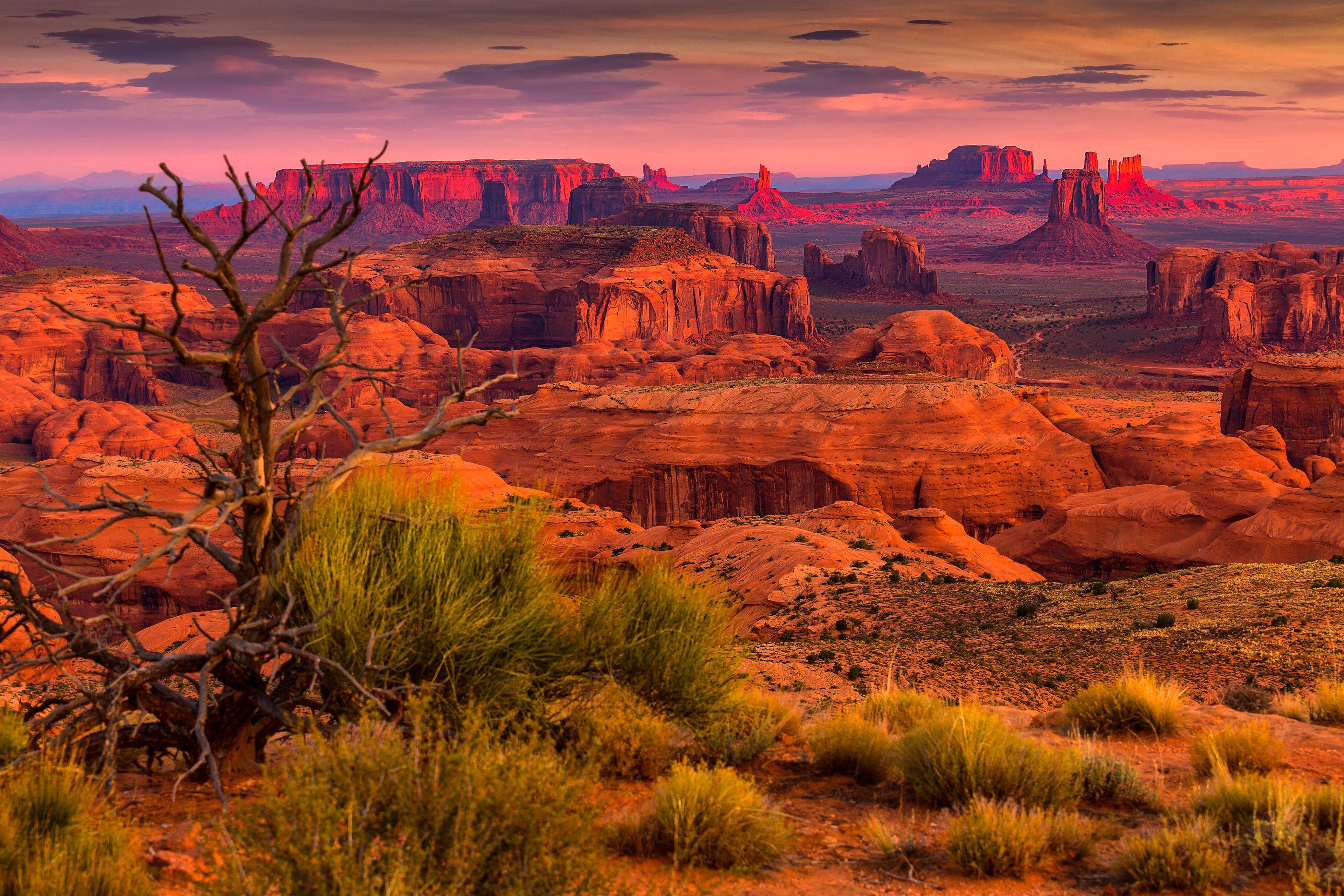 Mesa Navajo, Monument Valley, Arizona Monument valley