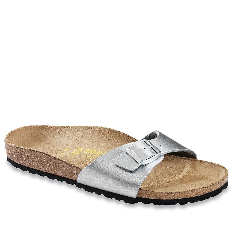 Birkenstock Madrid One Strap Comfort Sandal Metallic