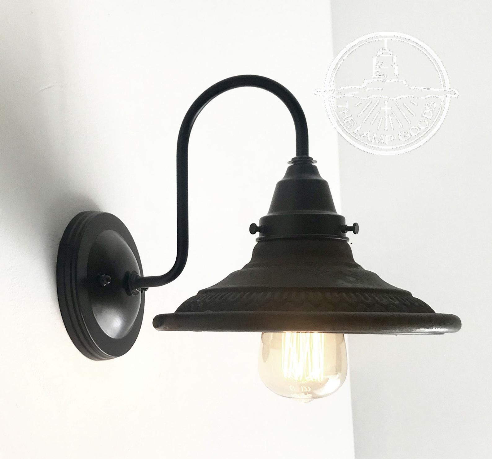 Rustic INDUSTRIAL Wall Light Fixture Sconce Ceiling
