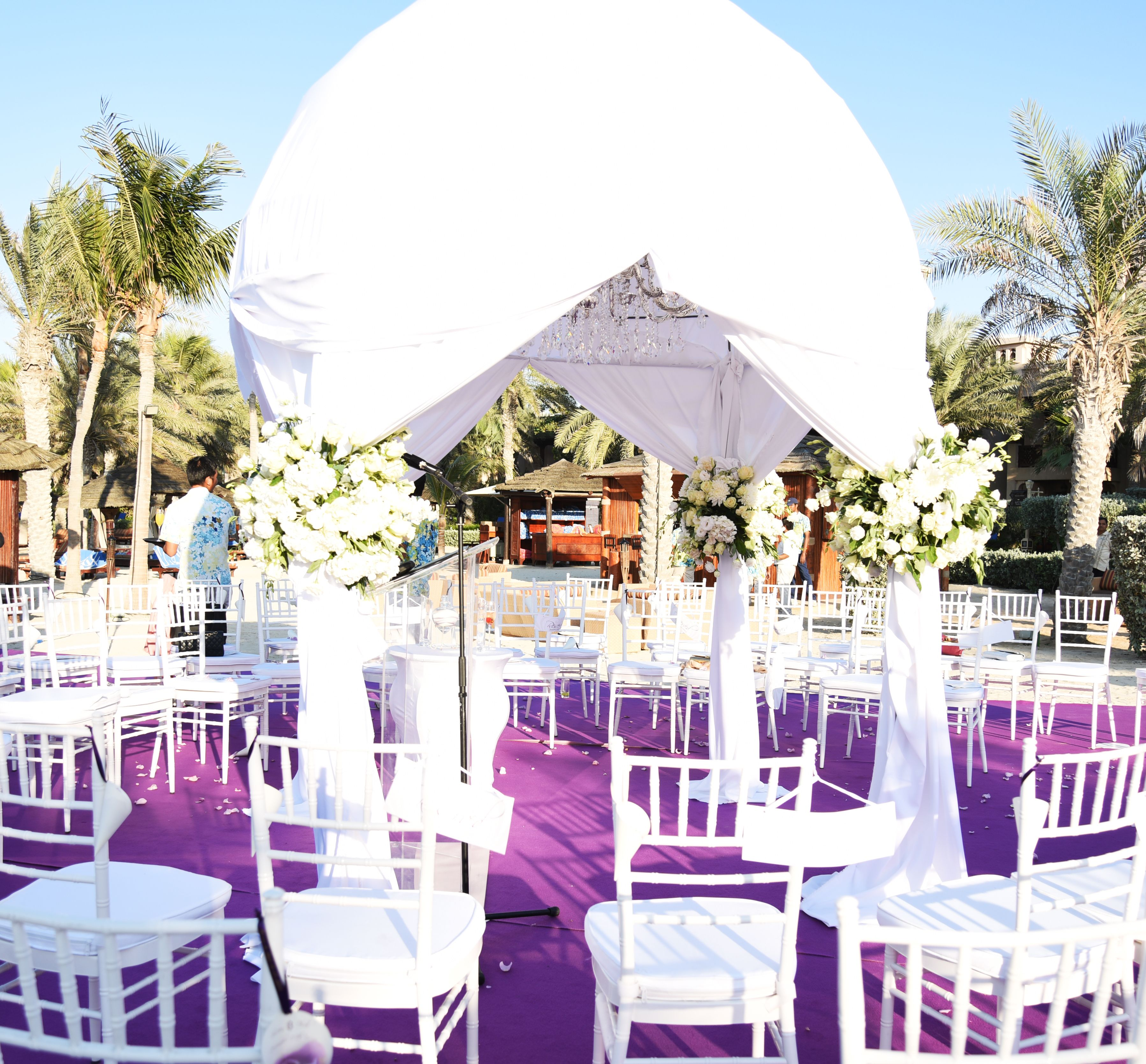 Purple Wedding Theme Aghareed Weddings Planner Set Up Ceremony Reception