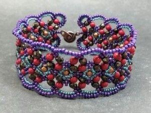 Maroon Bracelet | Funky Hannah's