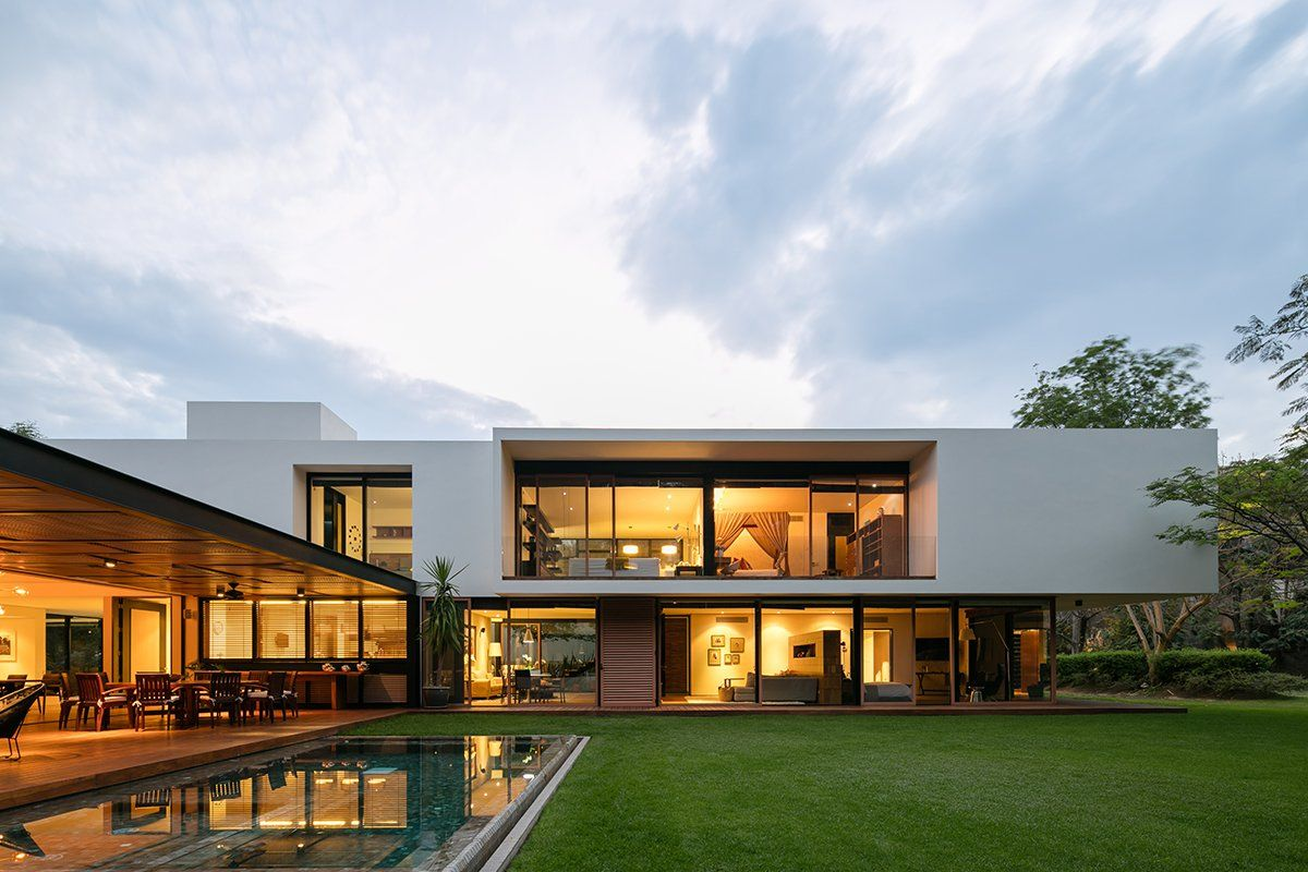 Case Moderne Ad Un Piano : Casa gp modern home in guadalajara jalisco mexico modern homes