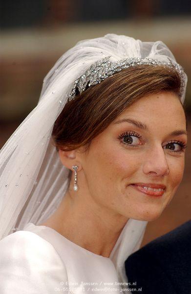 NLD/Naarden/20051022 - Huwelijk prins Floris en Aimee Söhngen, Aimee ...