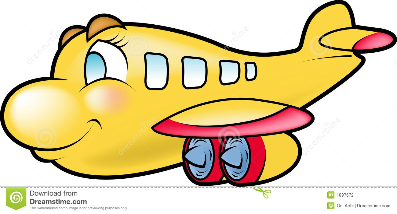 Airplane Cartoon Cartoon Airplane Cartoon Kids Background