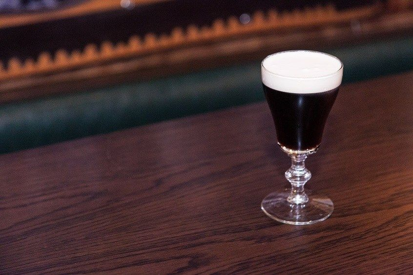 Cocktail of the Week Dead Rabbit Irish Coffee After