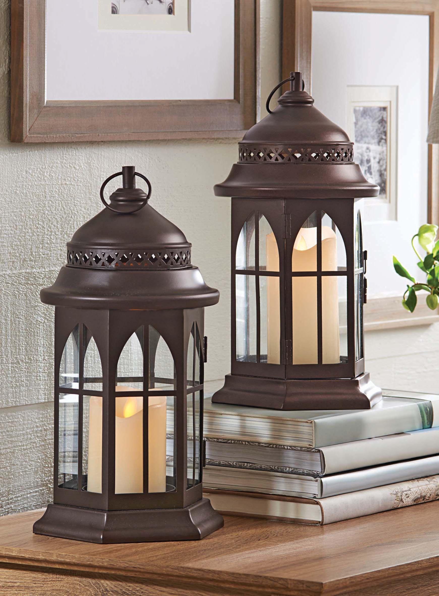 99d3a6d18cad0f5c0478da0be878fc2b - Better Homes And Gardens Farmhouse Large Lantern Rustic Finish