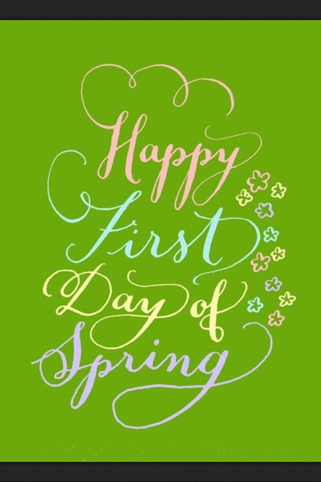 Images Of Happy First Day Of Spring : images, happy, first, spring, Happy, First, Spring!, #kellycummings, Spring, Quotes,, Spring,