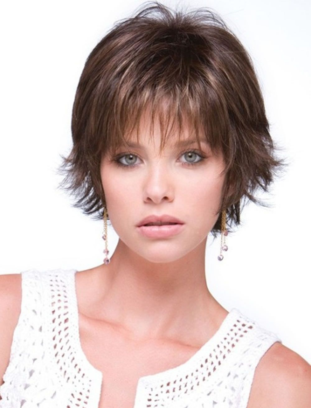 Short Haircuts For Round Face Thin Hair Ideas For 2018 Page 4