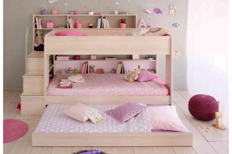 Parisot Etagenbett Bibop Kinderzimmer Komplettes