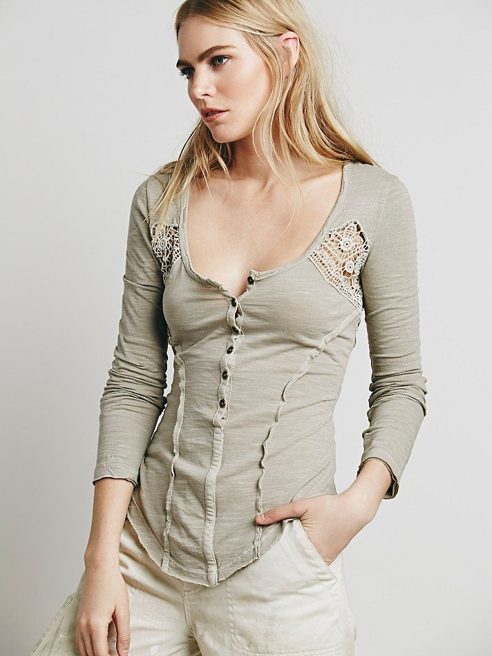 Free People Heart of Gold Top at Free People Clothing Boutique