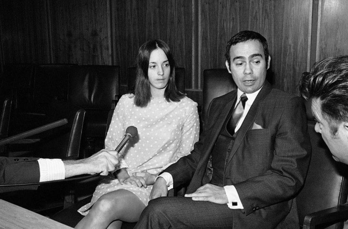 Sadie Mae Glutz aka Susan Atkins with her attorney. | Charles ...