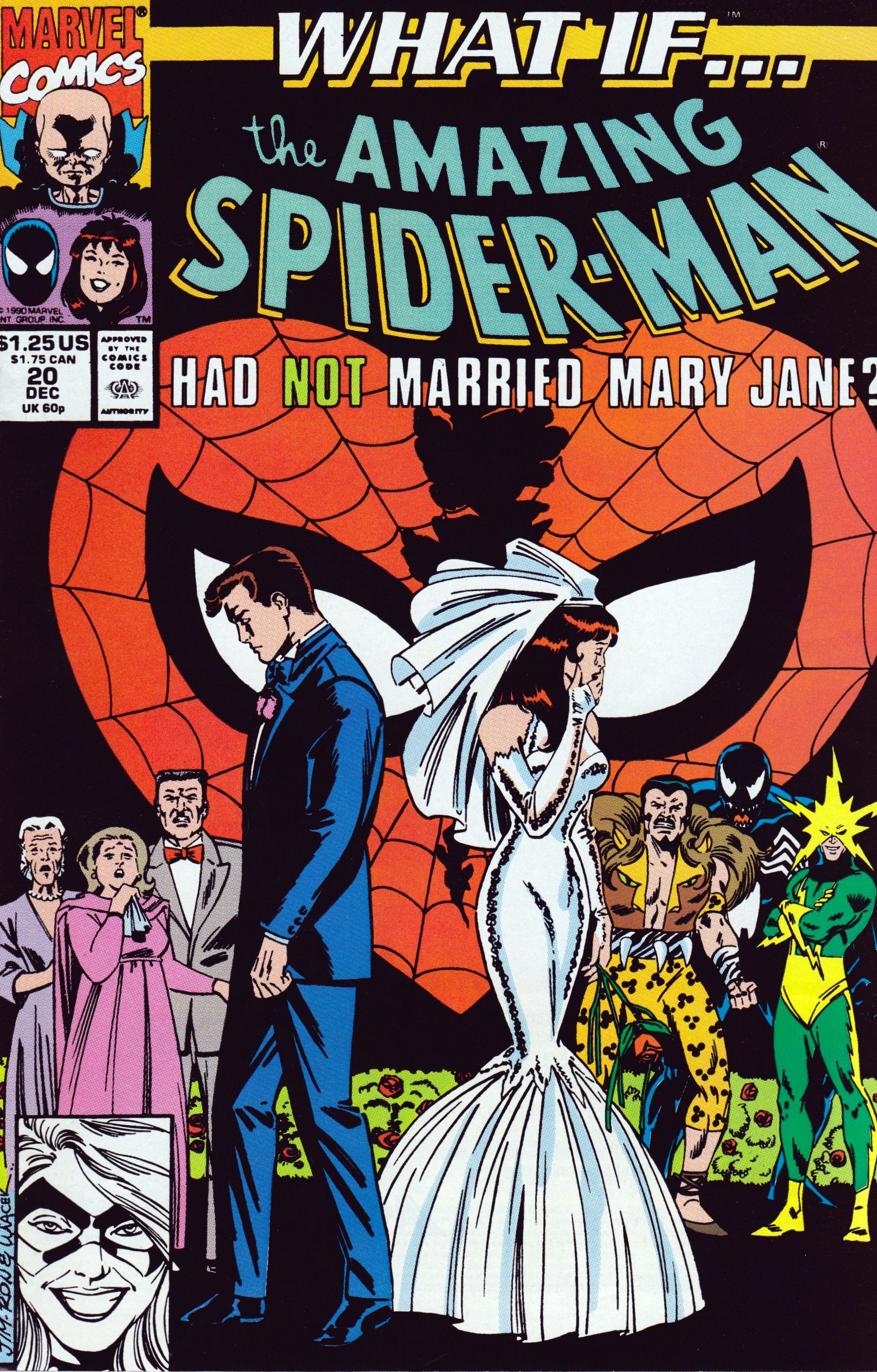 Peter and MJ wedding What If...? Spiderman comic, Comics