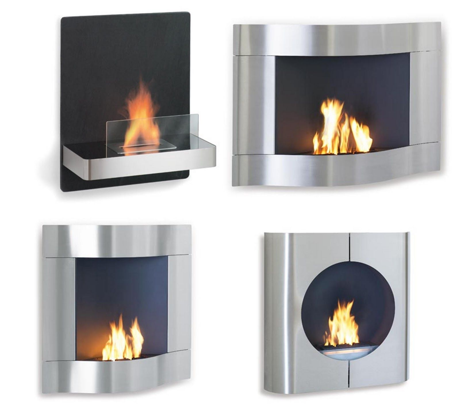 Time2Design Ventless Fireplace Chimeneas, Natural