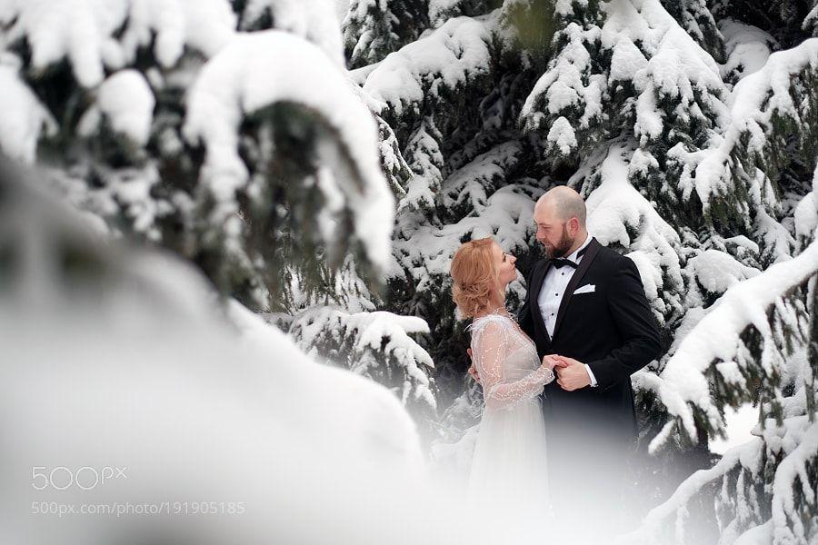 Winter wedding by samoilov