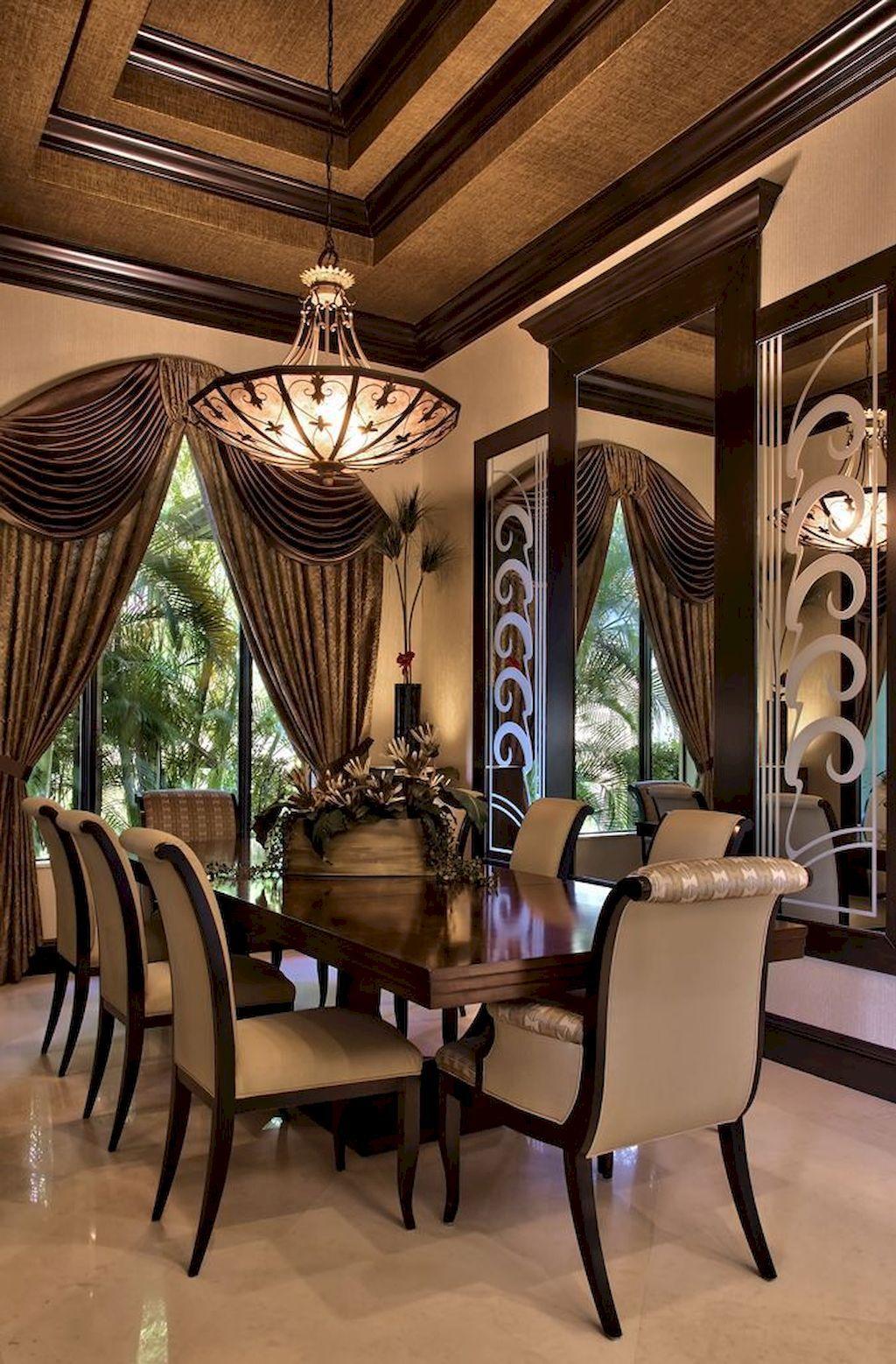 Luxury Dining Room Decoration Ideas Elegant Dining Room Luxury