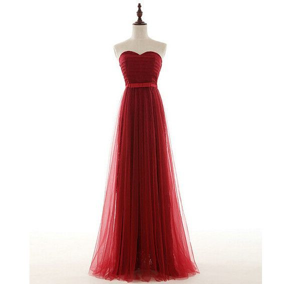 Burgundy Lace and Tulle 2016 Prom Dresses Lace Up Back pst0171