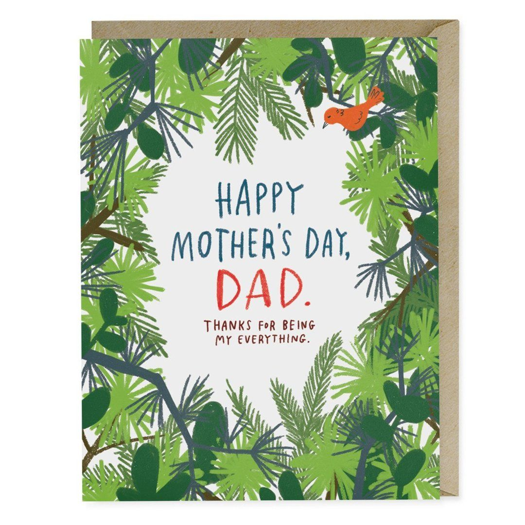 Mother S Day Dad Card Dad Cards Mother S Day Greeting Cards Happy Mothers Day
