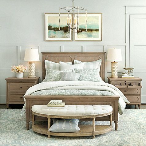 The Isabella Bed Has A High, Paneled Headboard That Creates A Perfect Frame  For Your