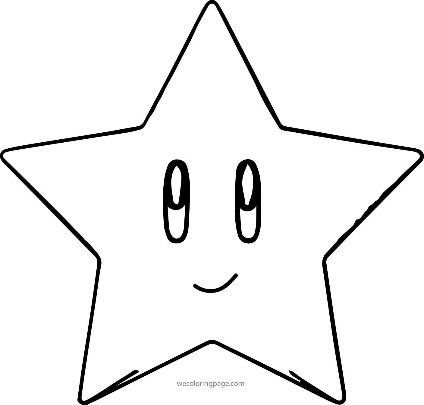 Awesome Mario Star Coloring Page Star Coloring Pages Mario Star