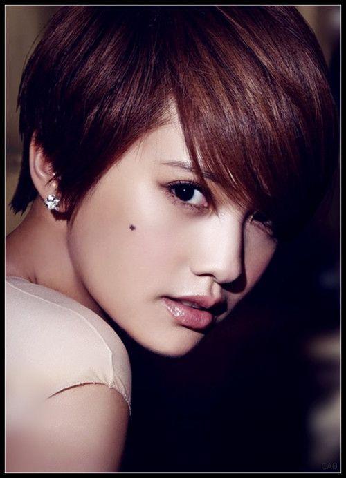 Rainie Yang Asian Hair Short Hair Styles Asian Short Hair
