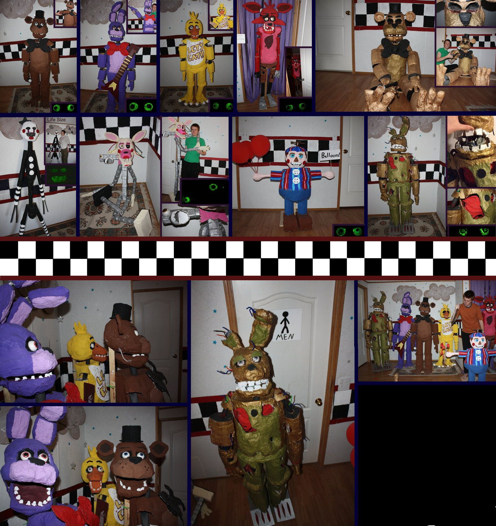Five Nights at Freddy's in real life by TommyGK on ...