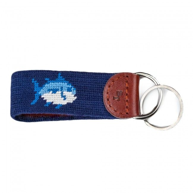 Check out Skipjack Needlepoint Key Fob from Southern Tide