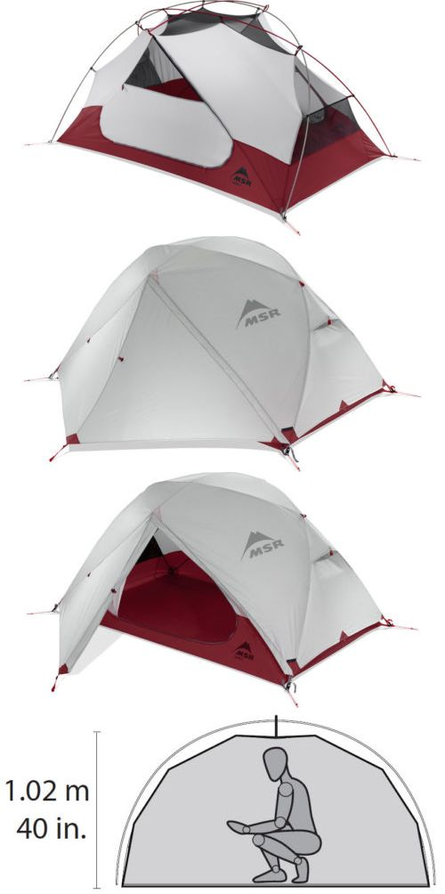 Tents 179010 Msr Elixir 2 Person 3 Season Backpacking Tent With Footprint Ground Cover -  sc 1 st  Pinterest & Tents 179010: Msr Elixir 2 Person 3 Season Backpacking Tent With ...