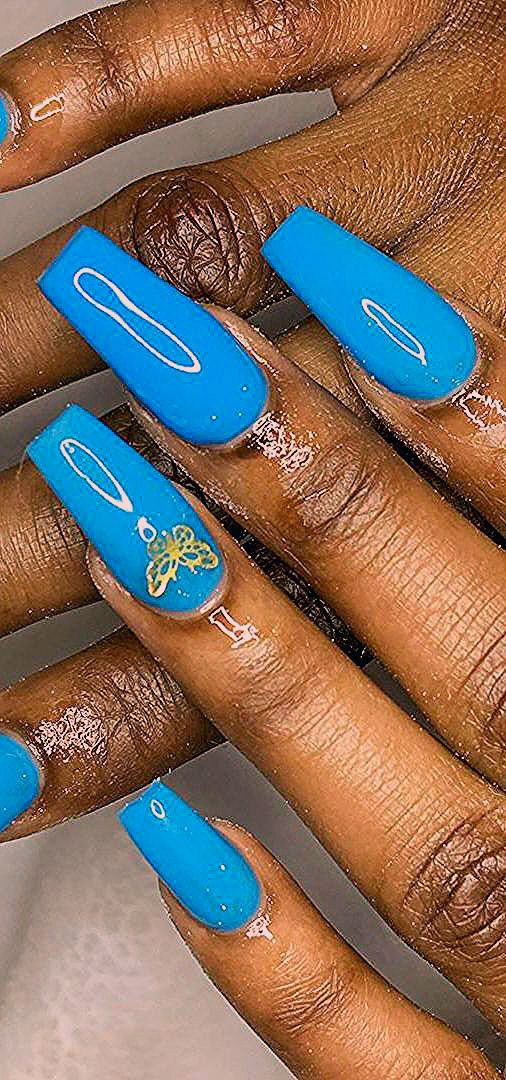 44+ Stunning Coffin Nails Design Ideas For This Year 2020 Part 9