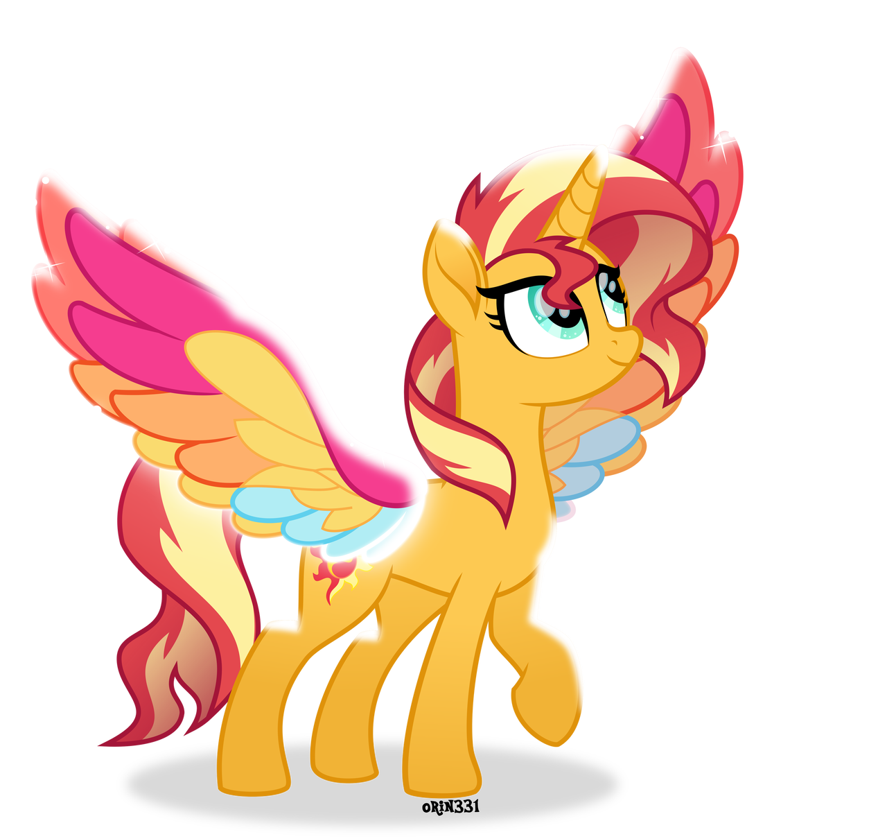 Rainbow Wings Sunset Shimmer By Orin331 On Deviantart My Little Pony Drawing My Little Pony Pictures My Little Pony Princess