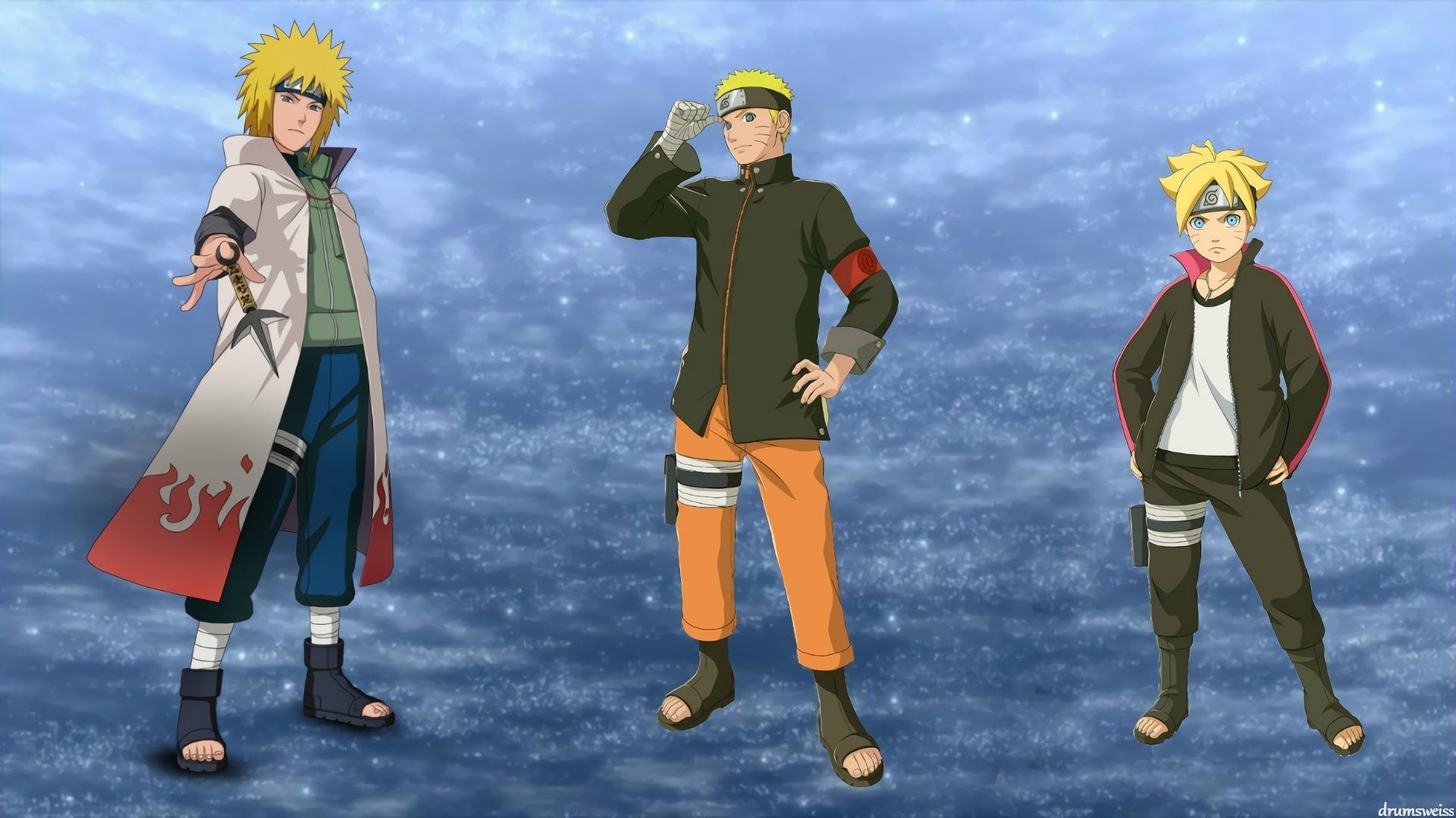 Anime Boruto Boruto Uzumaki Minato Namikaze Naruto Uzumaki 1080p Wallpaper Hdwallpaper Desktop Boruto Naruto Uzumaki Full Hd Pictures