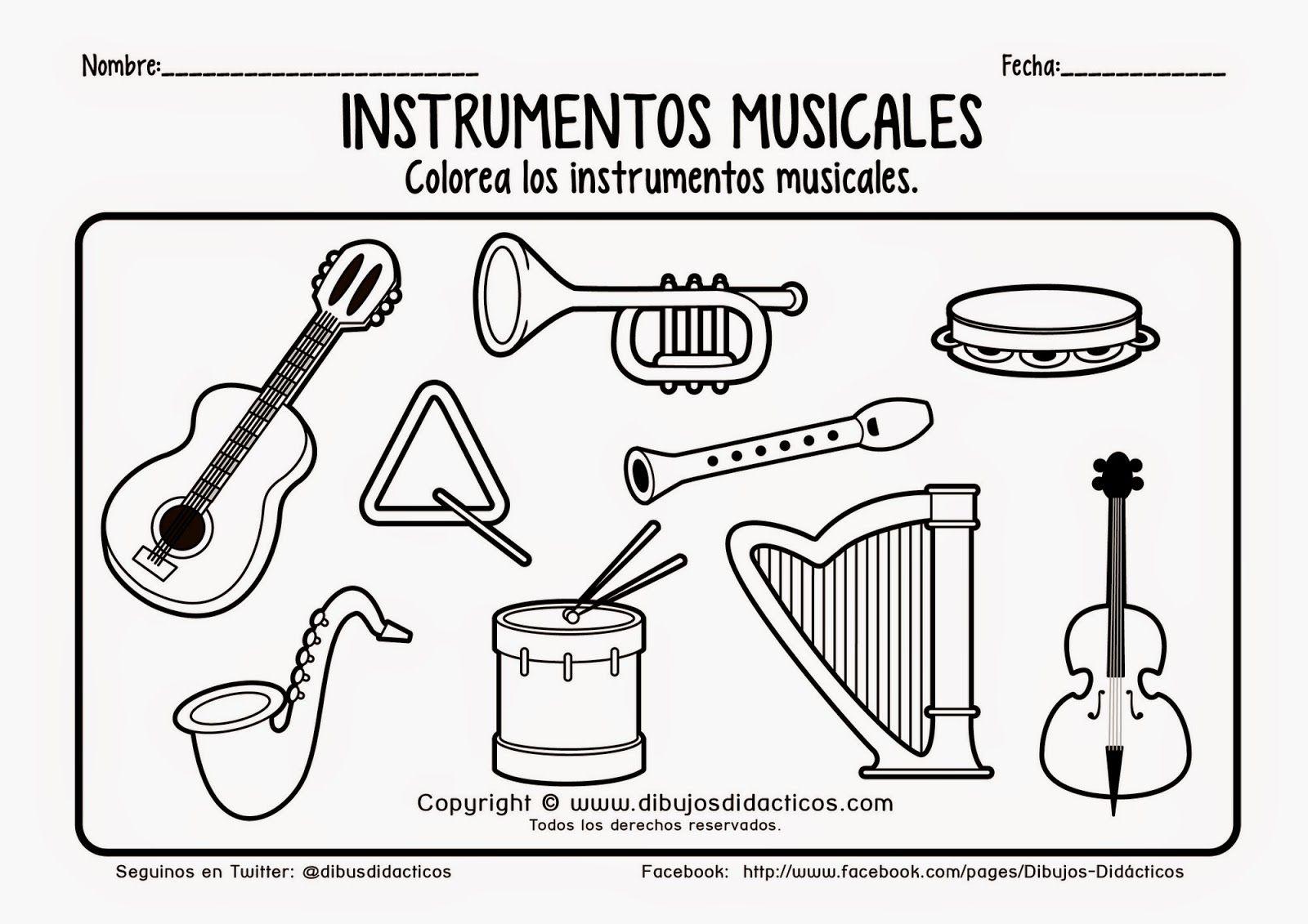 Pin de Patri Tri en Musica infantil | Pinterest | Instrumentos ...