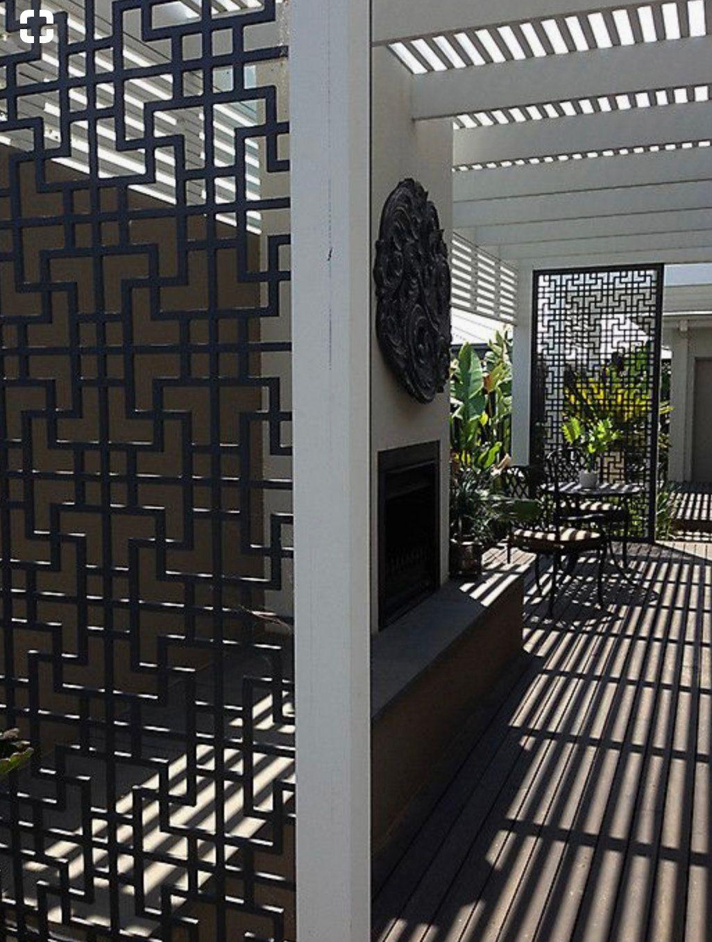 Outdoor Lattice Privacy Screen Lattice Privacy Screen Lattice Screen Pergola Outdoor Living